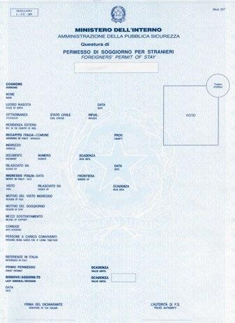 26 ottobre 2010 com for Flussi permesso di soggiorno